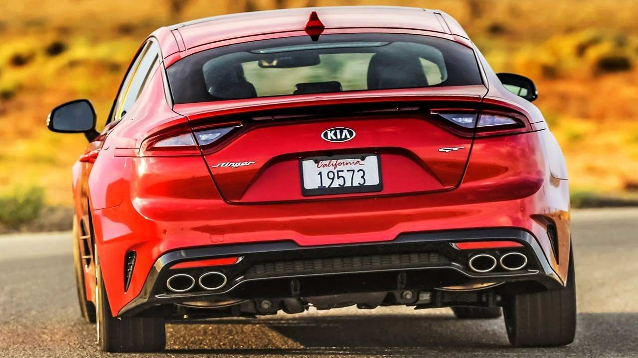 40 The 2019 Kia Gt Coupe Overview with 2019 Kia Gt Coupe