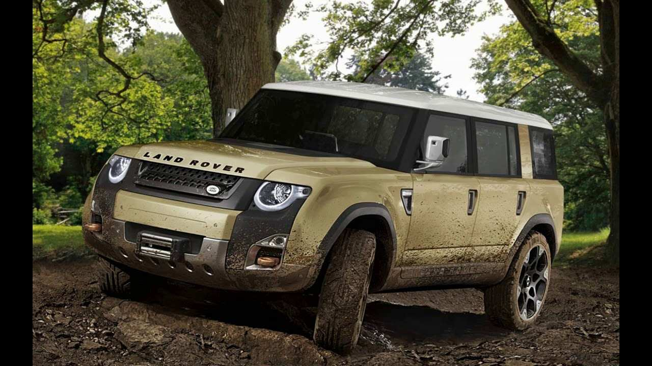 40 The 2019 Land Rover Defender Spy Shoot for 2019 Land Rover Defender