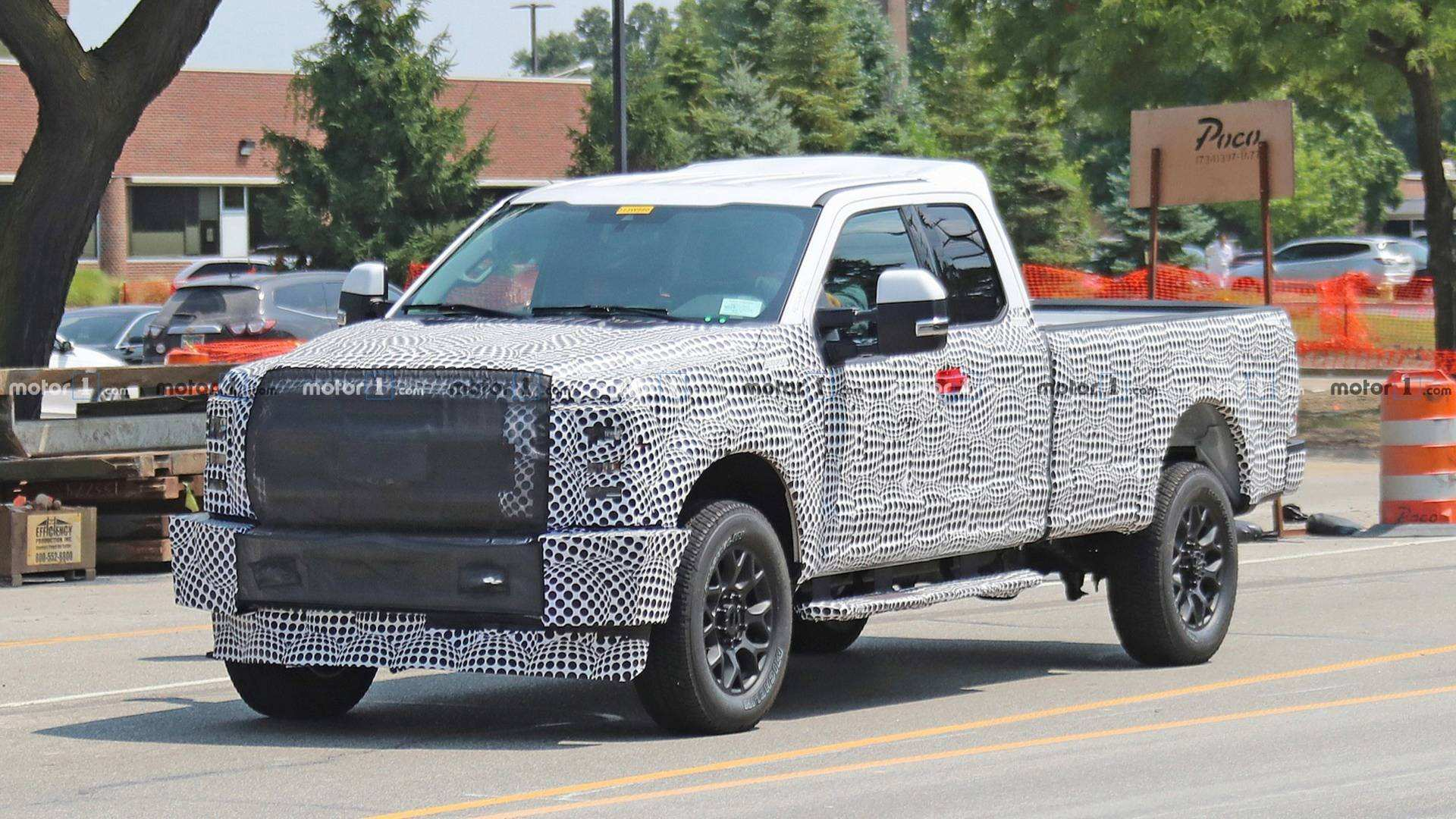 Spy Shots Ford F350 Diesel Picture