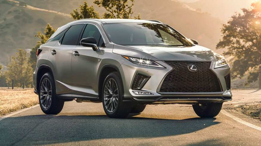 42 Great Lexus Rx 2020 New Concept with Lexus Rx 2020