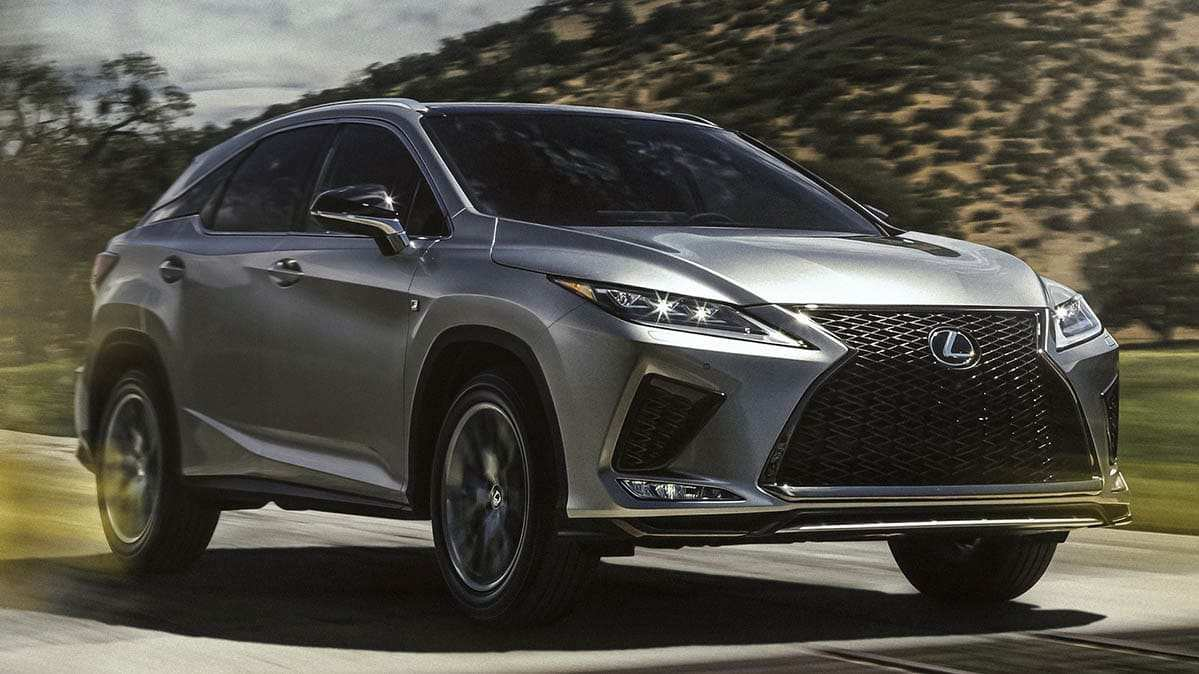 42 The Lexus Rx 2020 Performance with Lexus Rx 2020