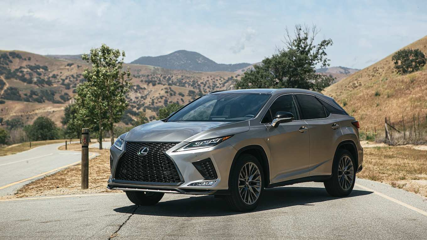 45 Great 2020 Lexus Rx 350 Vs 2019 Research New with 2020 Lexus Rx 350 Vs 2019