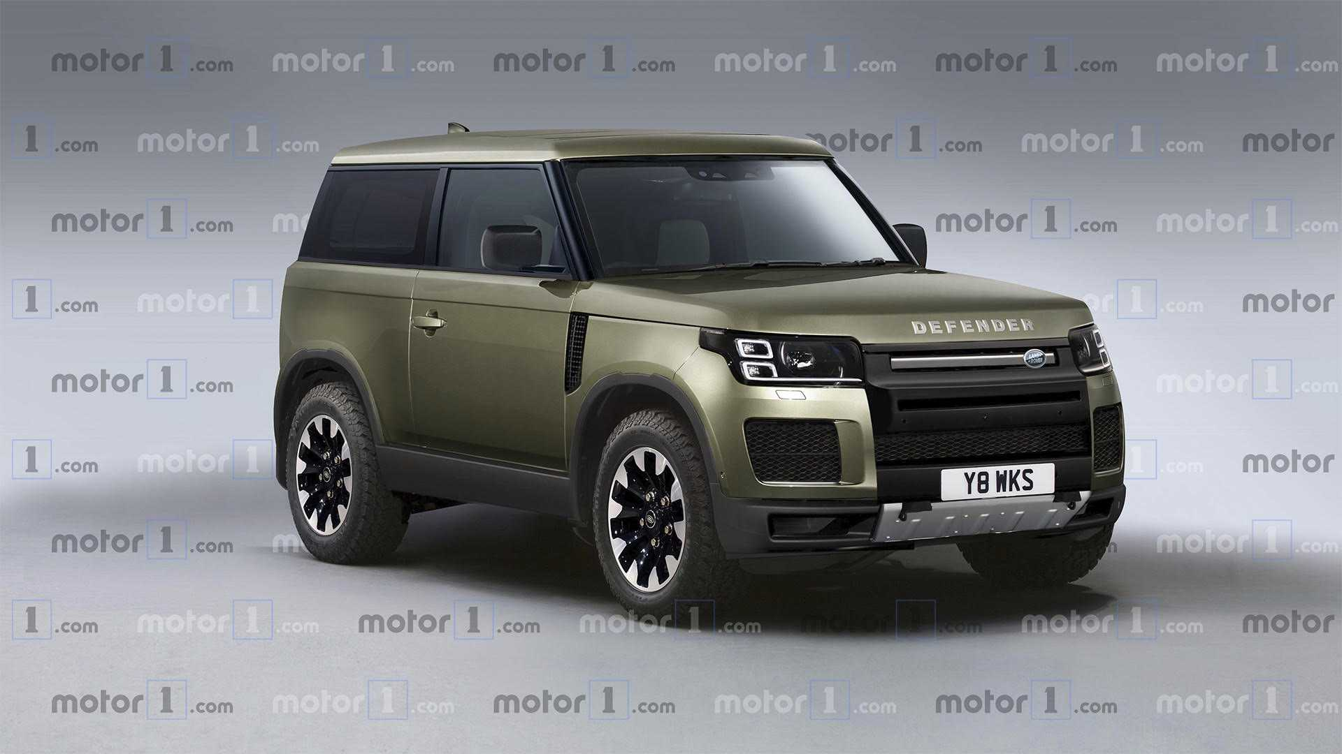 46 All New 2019 Land Rover Defender Performance and New Engine for 2019 Land Rover Defender