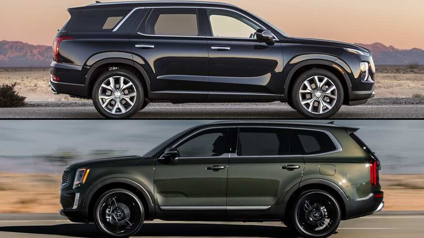 46 Great 2020 Hyundai Palisade Vs Kia Telluride Release for 2020 Hyundai Palisade Vs Kia Telluride