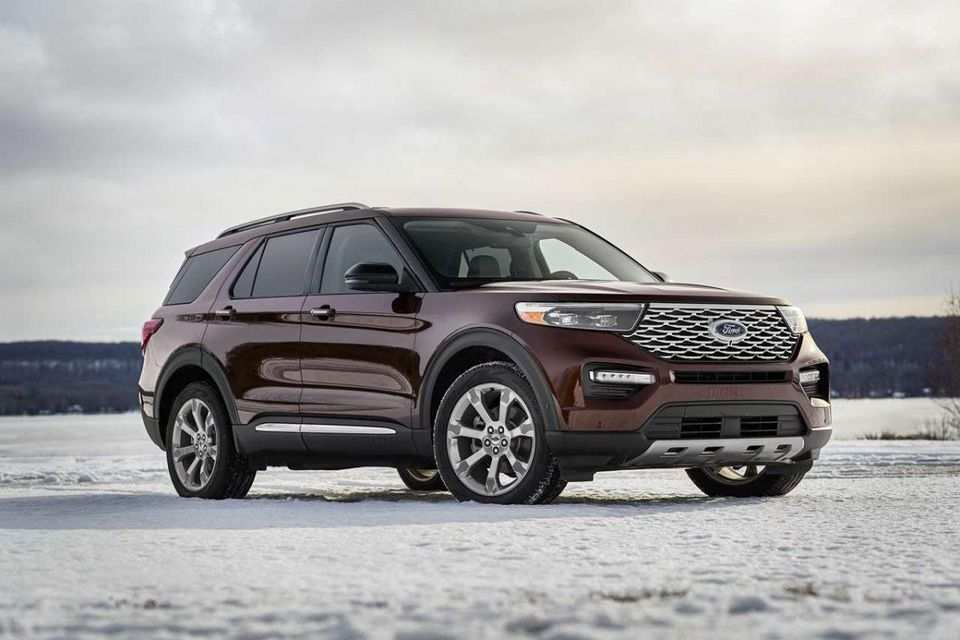 46 The 2020 Ford Explorer Job 1 Pictures for 2020 Ford Explorer Job 1