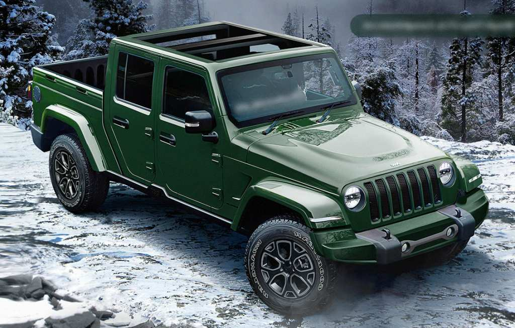 46 The Jeep Wrangler Pickup 2020 First Drive for Jeep Wrangler Pickup 2020
