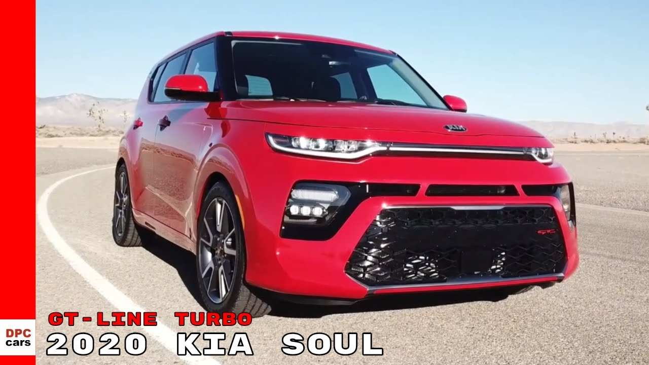 48 All New 2020 Kia Soul Gt Turbo Overview for 2020 Kia Soul Gt Turbo