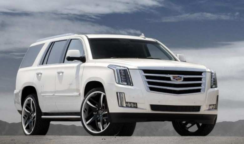 48 Best Review 2020 Cadillac Escalade White Spy Shoot with 2020 Cadillac Escalade White