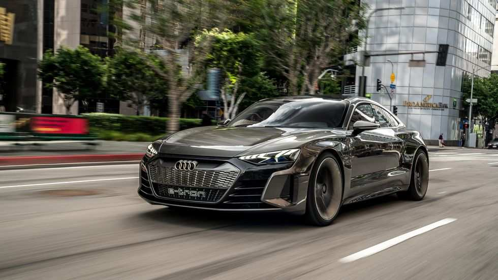 48 Great 2020 Audi E Tron Gt Speed Test by 2020 Audi E Tron Gt