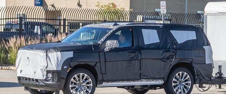 48 New 2020 Gmc Yukon Xl Slt Spy Shoot by 2020 Gmc Yukon Xl Slt