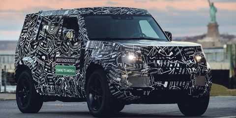 52 All New 2019 Land Rover Defender Exterior and Interior by 2019 Land Rover Defender