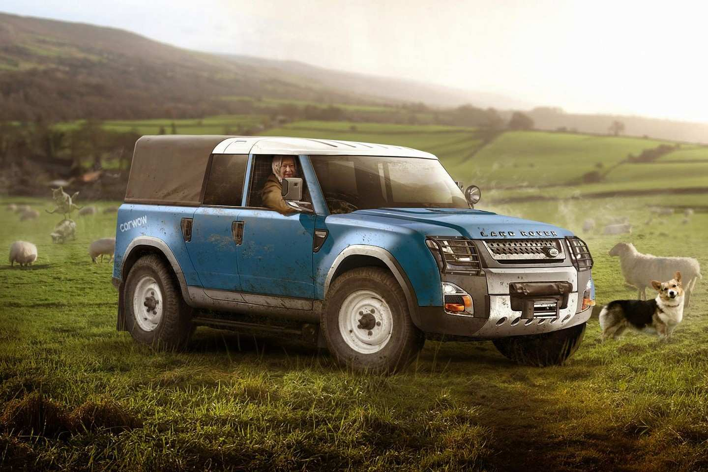 52 Concept of 2019 Land Rover Defender First Drive by 2019 Land Rover Defender