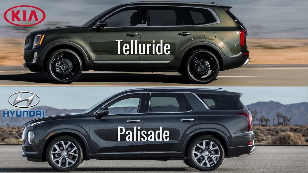 53 The 2020 Hyundai Palisade Vs Kia Telluride Concept for 2020 Hyundai Palisade Vs Kia Telluride