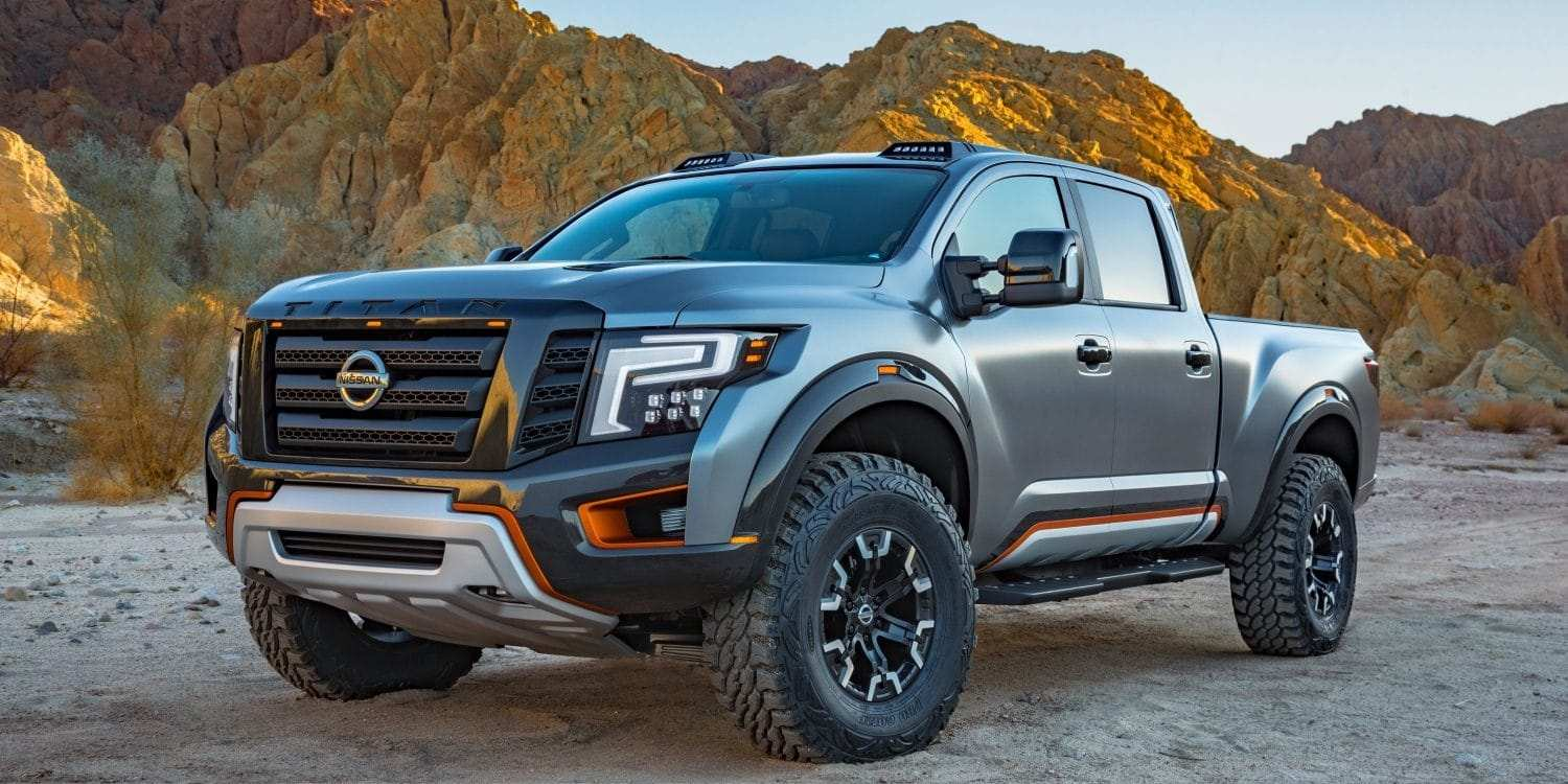 54 All New Nissan Titan Warrior 2020 Spesification with Nissan Titan Warrior 2020