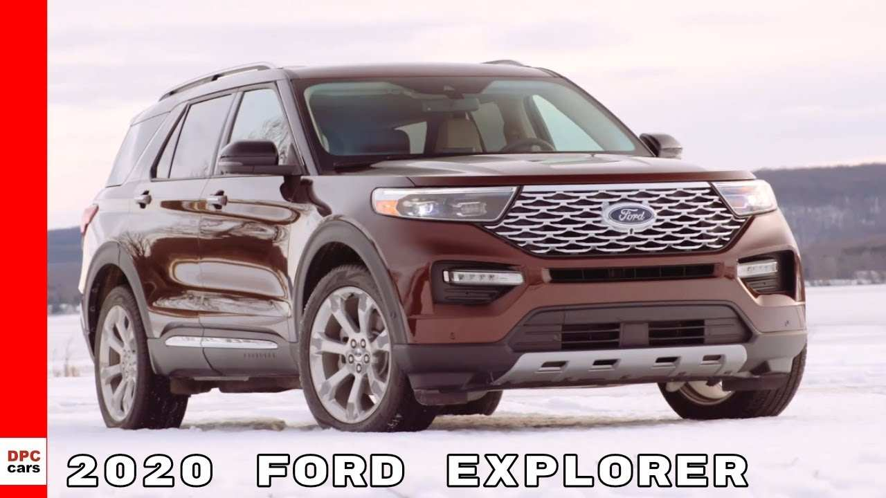 54 New 2020 Ford Explorer Youtube Speed Test for 2020 Ford Explorer Youtube