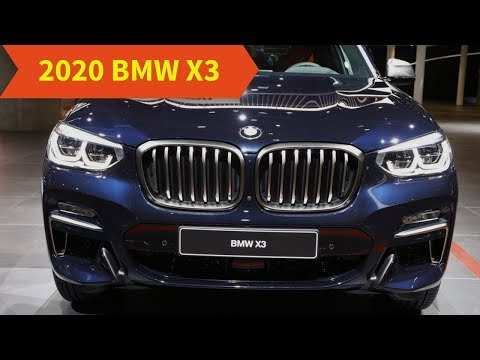 55 All New 2020 Bmw X3 Release Date Spy Shoot for 2020 Bmw X3 Release Date