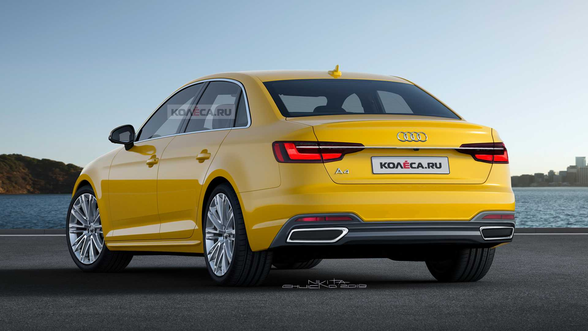 55 All New Audi A4 B10 2020 Picture with Audi A4 B10 2020