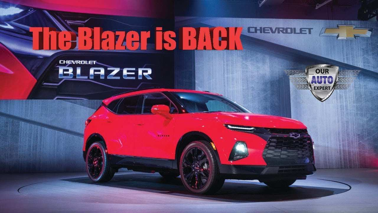 55 Concept of Chevrolet Blazer Ss 2020 Exterior with Chevrolet Blazer Ss 2020