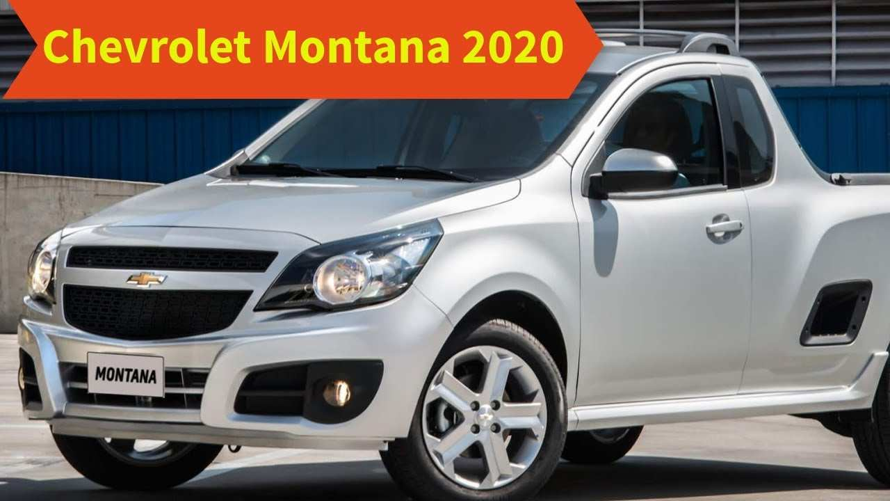 55 New Chevrolet Montana 2020 Release for Chevrolet Montana 2020