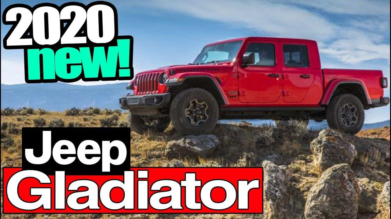 56 The 2020 Jeep Gladiator Youtube New Review by 2020 Jeep Gladiator Youtube