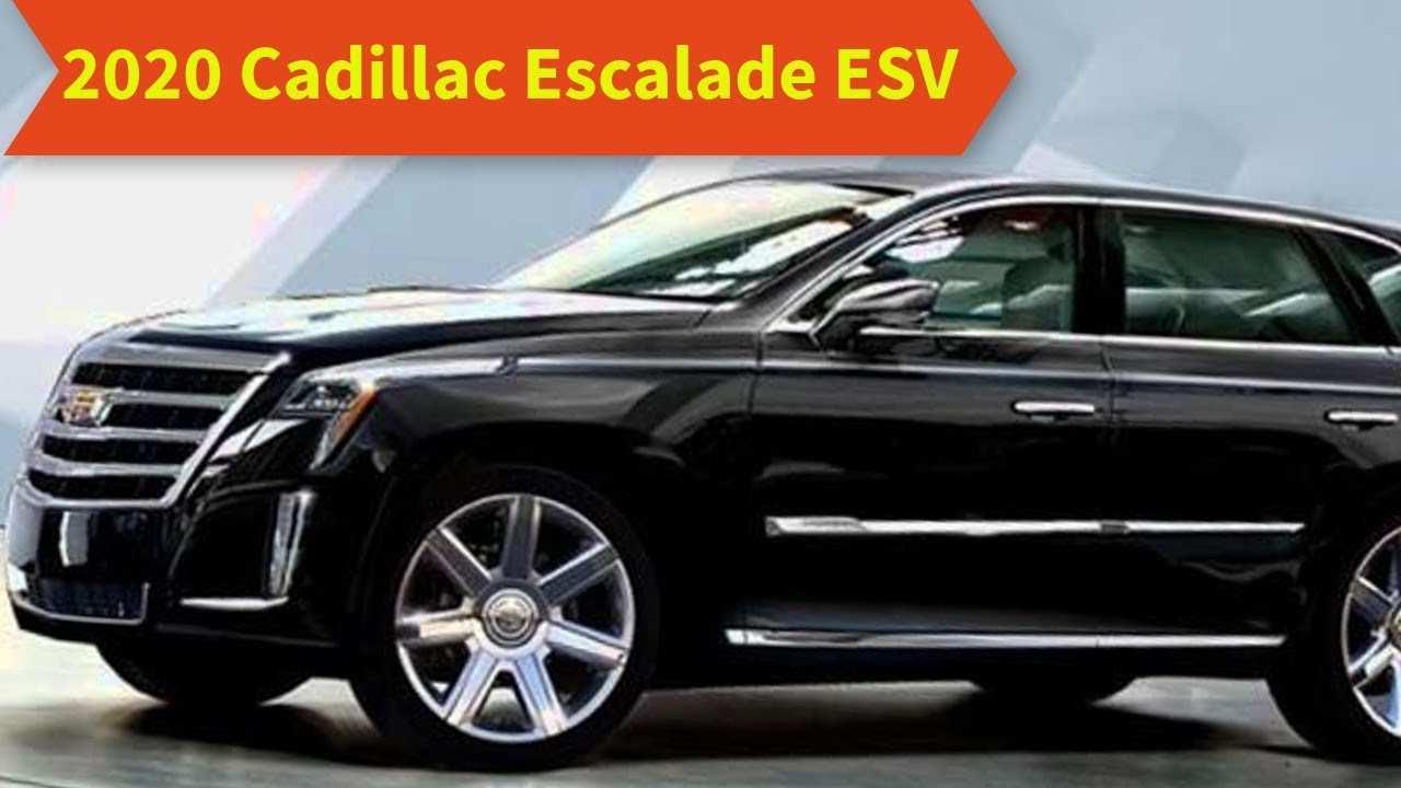 59 Best Review Cadillac Escalade Esv 2020 Redesign with Cadillac Escalade Esv 2020