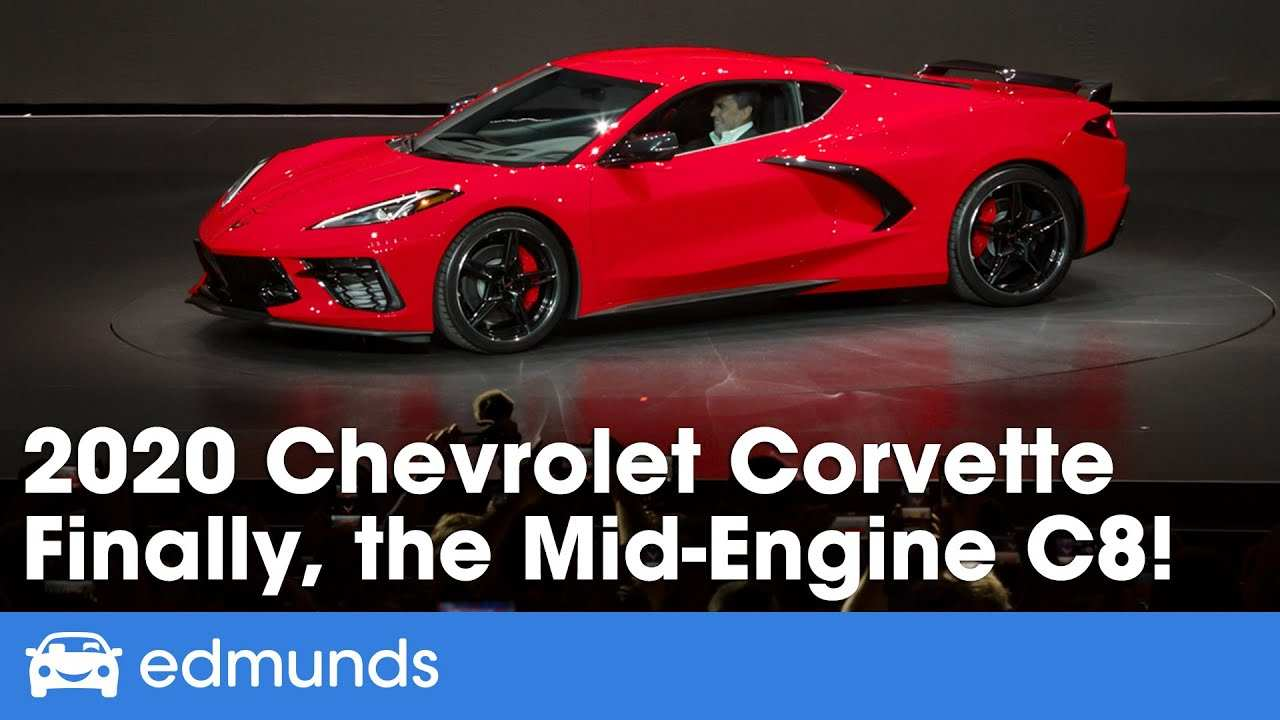 60 Best Review 2020 Chevrolet Corvette Mid Engine C8 Exterior and Interior with 2020 Chevrolet Corvette Mid Engine C8