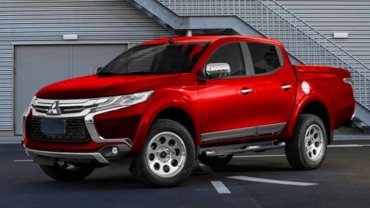 60 The 2020 Mitsubishi Triton Specs Exterior by 2020 Mitsubishi Triton Specs
