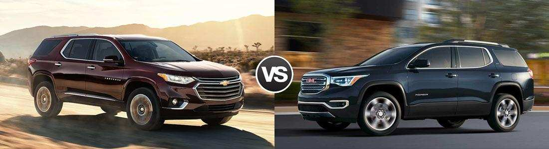 61 Best Review 2020 Gmc Acadia Vs Chevy Traverse Release Date with 2020 Gmc Acadia Vs Chevy Traverse