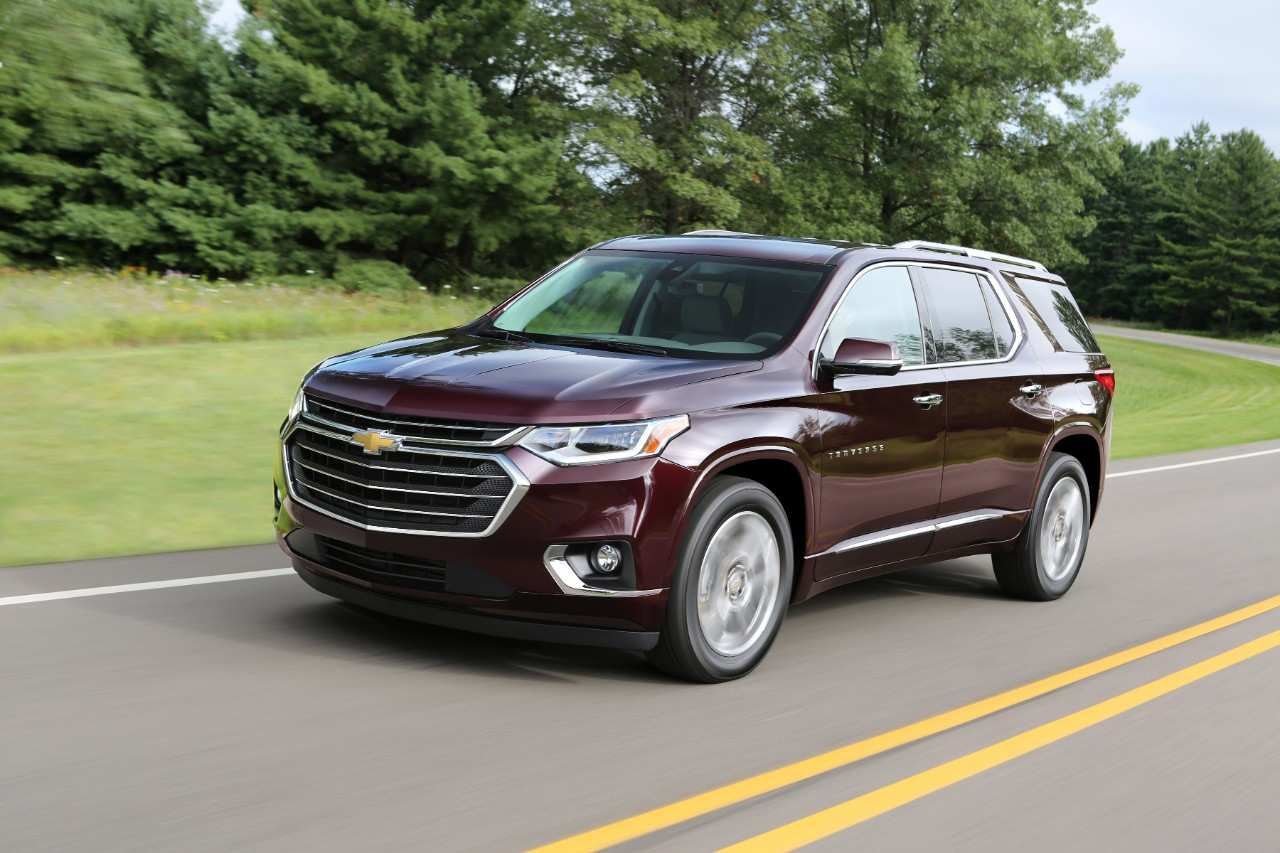 61 The 2019 Chevrolet Traverses Redesign by 2019 Chevrolet Traverses