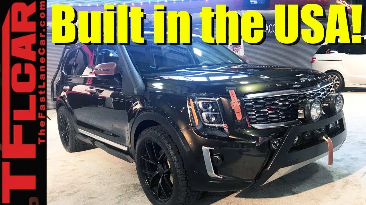 62 All New 2020 Kia Telluride Youtube Exterior and Interior with 2020 Kia Telluride Youtube