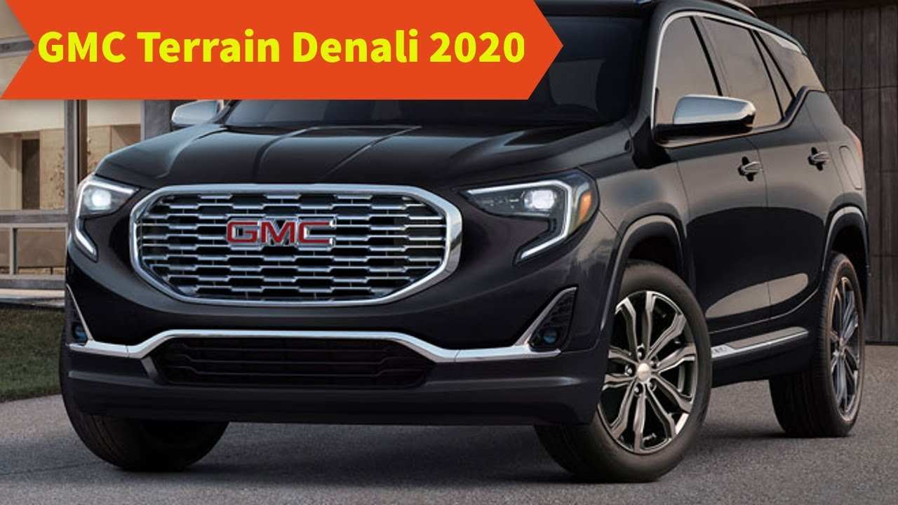 62 Best Review Gmc Terrain 2020 Pricing for Gmc Terrain 2020