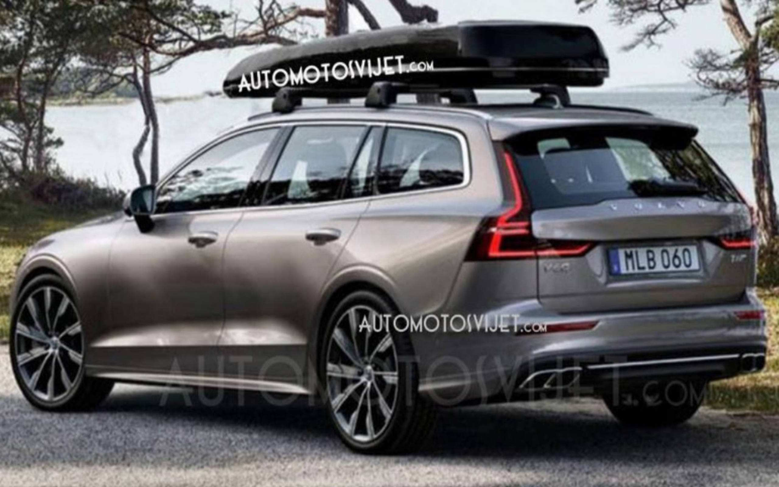 62 The 2020 Volvo V60 Wagon Redesign and Concept with 2020 Volvo V60 Wagon