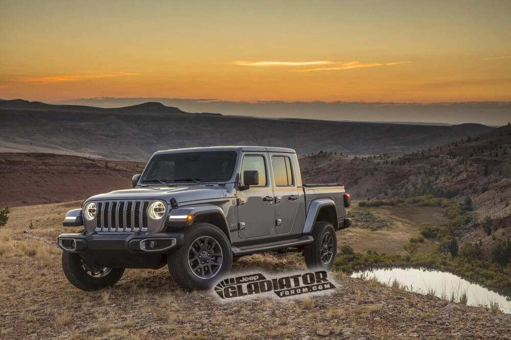 63 Gallery of Jeep Pickup 2020 Specs Performance and New Engine by Jeep Pickup 2020 Specs