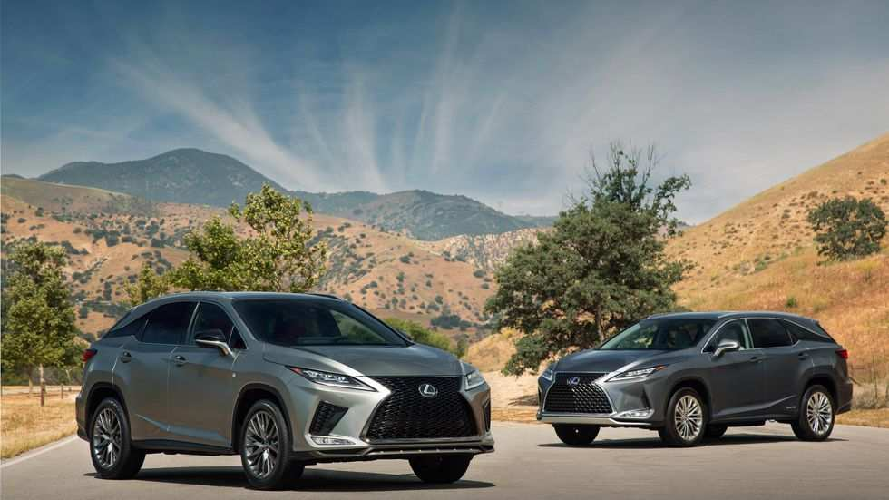 64 New Lexus Rx 2020 Specs and Review by Lexus Rx 2020