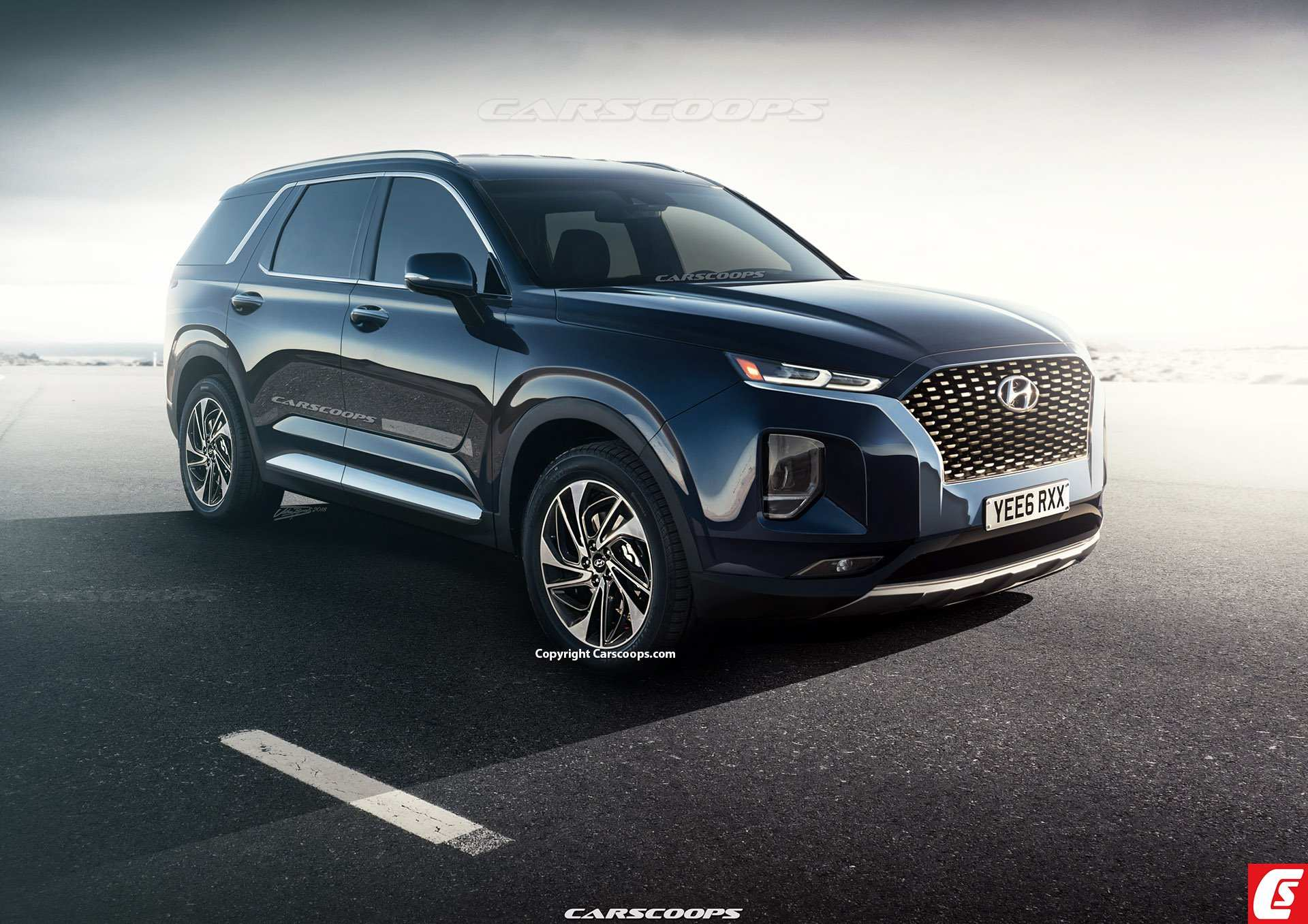 64 The Hyundai Large Suv 2020 Exterior and Interior for Hyundai Large Suv 2020