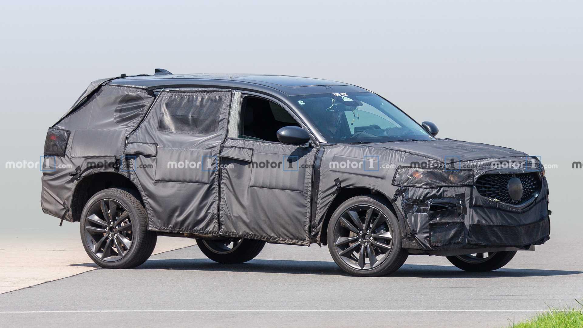 65 All New Acura Mdx 2020 Spy Shots Exterior by Acura Mdx 2020 Spy Shots