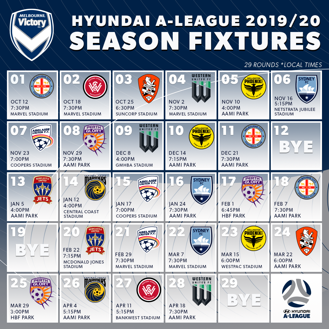 66 Concept of Hyundai A League 2020 New Concept for Hyundai A League 2020