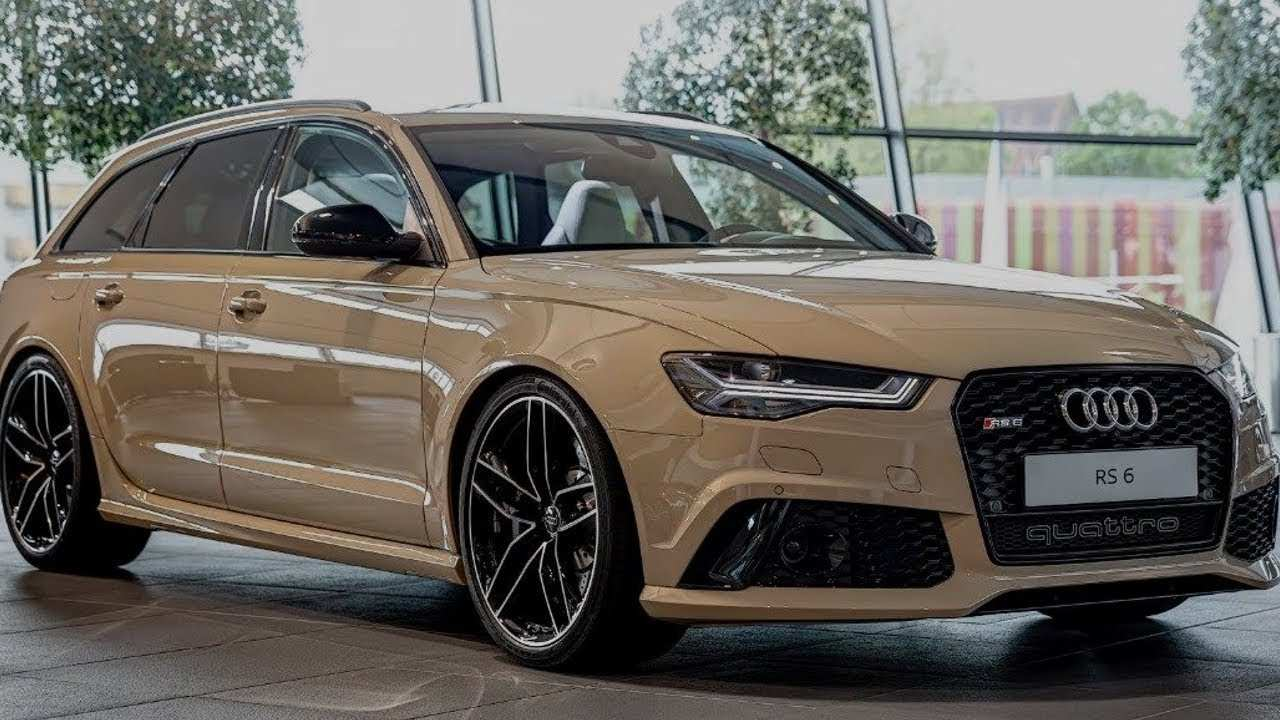 69 Gallery of 2020 Audi Rs6 Wagon Release Date by 2020 Audi Rs6 Wagon