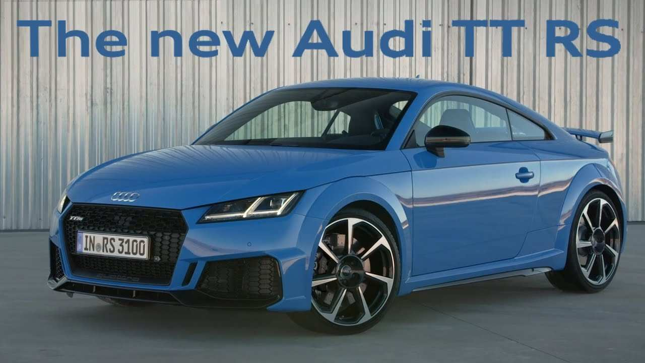 73 Concept of Audi Tt Rs 2020 Youtube Picture by Audi Tt Rs 2020 Youtube
