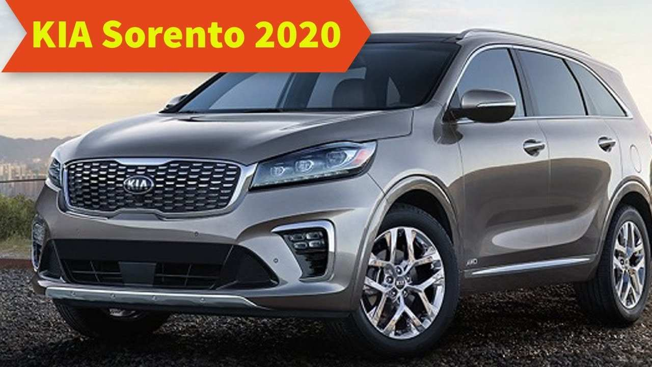 73 Concept of Kia Sorento 2020 Redesign Review by Kia Sorento 2020 Redesign