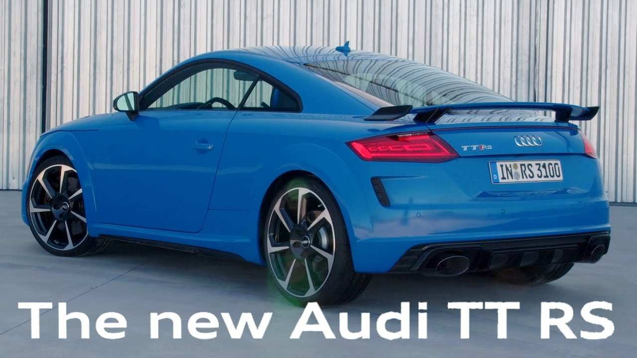 73 New Audi Tt Rs 2020 Youtube Picture with Audi Tt Rs 2020 Youtube