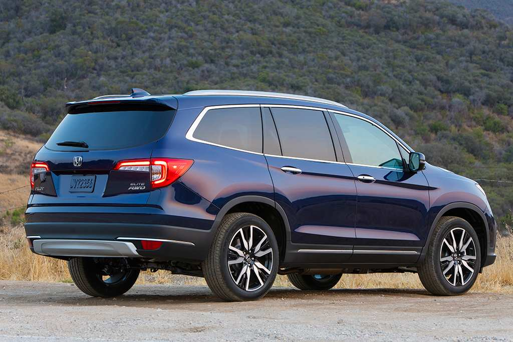 75 Best Review Honda Pilot 2020 Hybrid New Concept by Honda Pilot 2020 Hybrid