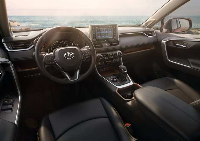 77 Concept of Toyota Rav4 2020 Interior Price and Review with Toyota Rav4 2020 Interior