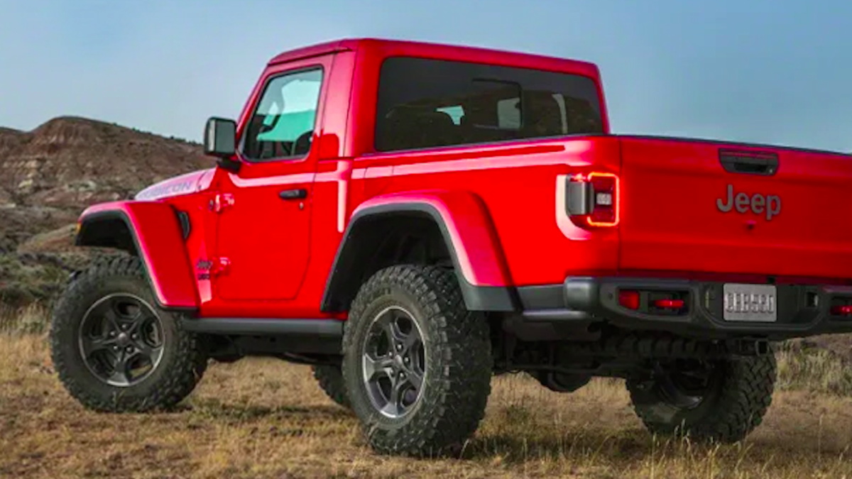 79 Gallery of 2020 Jeep Gladiator 2 Door Redesign with 2020 Jeep Gladiator 2 Door