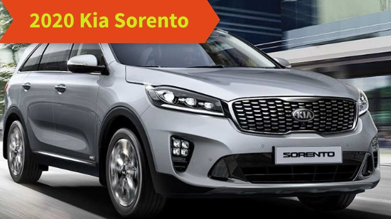 80 All New Kia Sorento 2020 Redesign First Drive for Kia Sorento 2020 Redesign