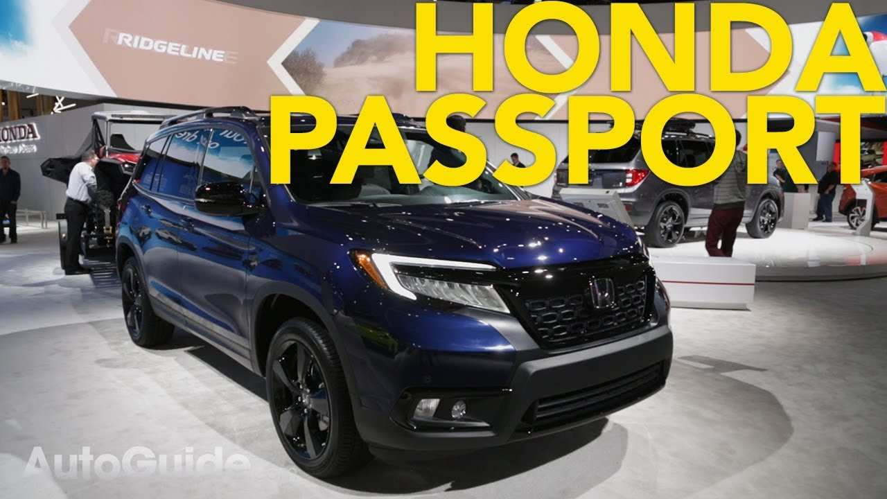 80 Gallery of Honda Passport 2020 Rumors with Honda Passport 2020