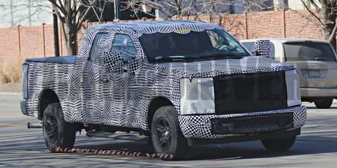 Spy Shots Ford F350 Diesel - Car Review : Car Review