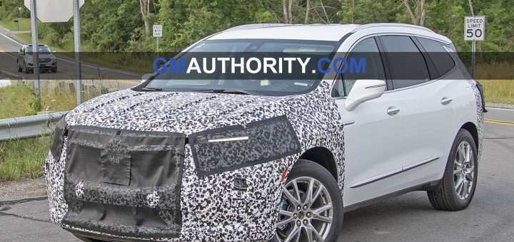 82 All New 2019 Buick Enclave Spy Photos Overview with 2019 Buick Enclave Spy Photos