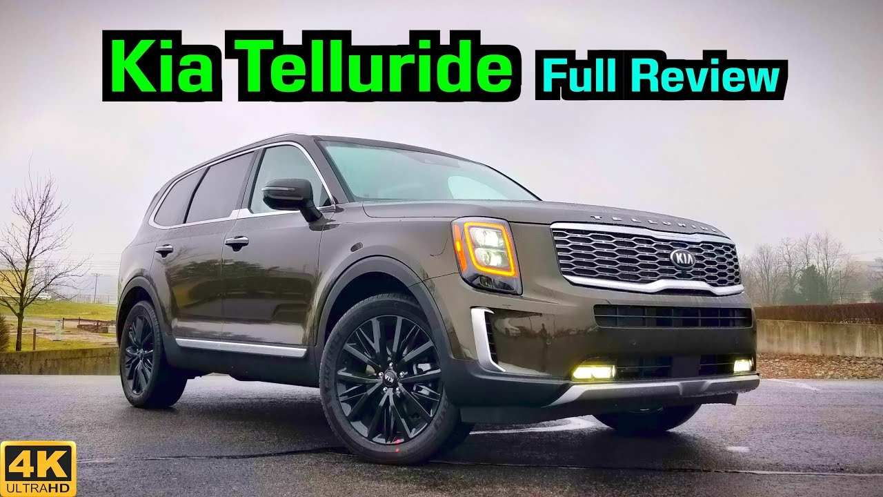 82 New 2020 Kia Telluride Youtube Release Date by 2020 Kia Telluride Youtube
