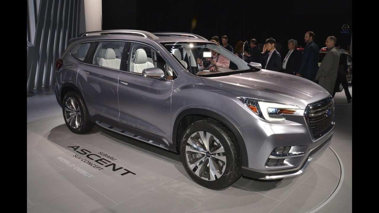 82 New Subaru Ascent 2020 Concept with Subaru Ascent 2020